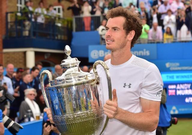 Murray với chức vô địch thứ 4 tạị Queen's Club