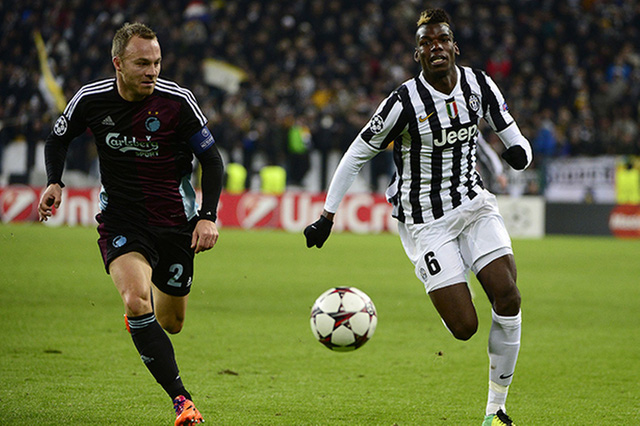 Juventus không thể có được sự phục vụ của Paul Pogba
