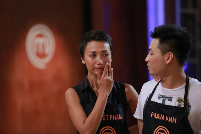 Phạm Tuyết muốn nhường cơ hội đi tiếp cho Phan Anh.