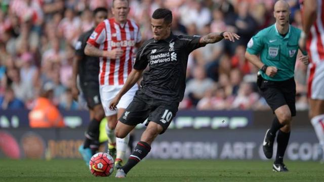 Phút xuất thần của Philippe Coutinho mang về chiến thắng mở màn cho Liverppol trước Stoke City