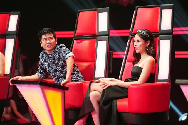 Hai HLV Lưu Hương Giang và Hồ Hoài Anh