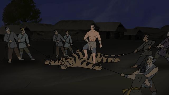 Tích Phùng Hưng đả hổ được tái hiện trên phim