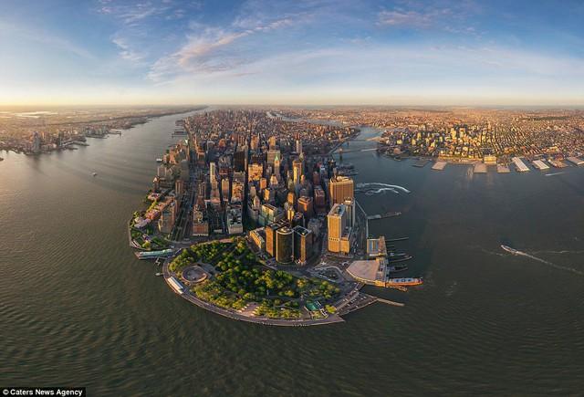Một góc thành phố Manhattan