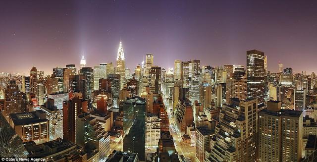 Tòa nhà Empire State tại thành phố Manhattan