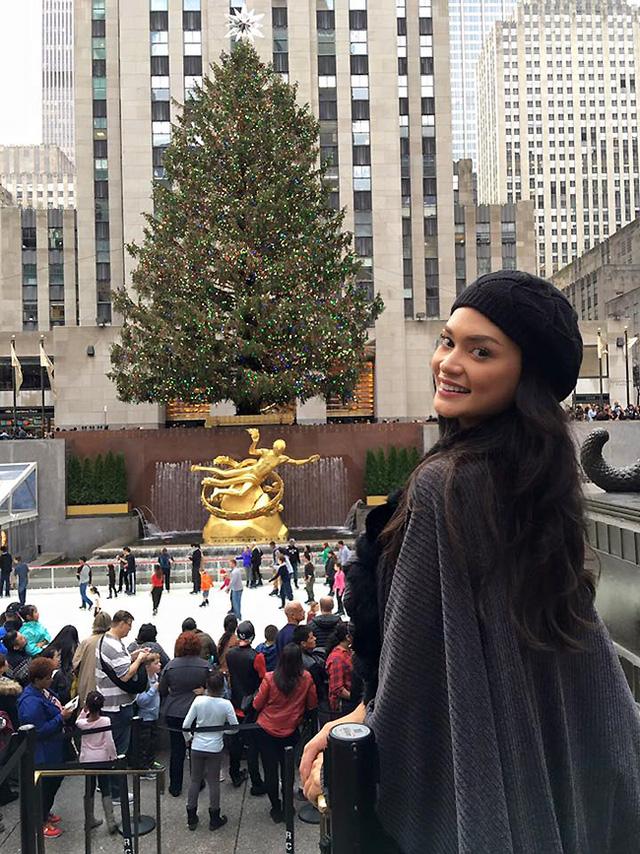 Bức ảnh mới nhất của Pia Alonzo Wurtzbach được đính kèm với những chia sẻ của người đẹp trên trang Facebook cuộc thi Hoa hậu Hoàn vũ.