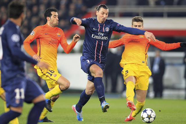 PSG sẽ không có được sự phục vụ của Ibrahimovic trong trận tứ kết lượt đi gặp Barcelona
