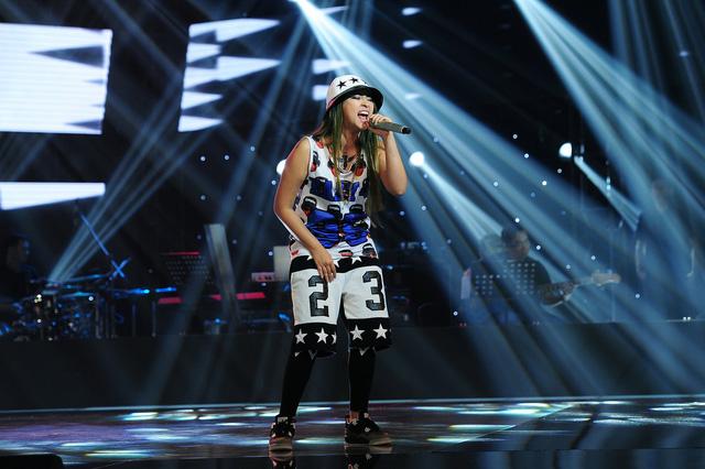 Nữ rapper Kimmese khiến các HLV giật mình khi tham gia chương trình Giọng hát Việt