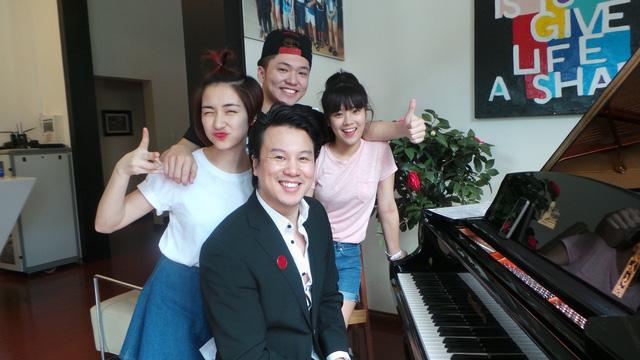 Tóp 3 Học viện ngôi sao 2014 và ca sĩ Thanh Bùi