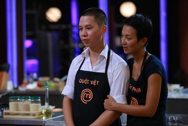 Quốc Việt bị loại khỏi chương trình vì làm món ăn hoàn toàn sai quy cách.