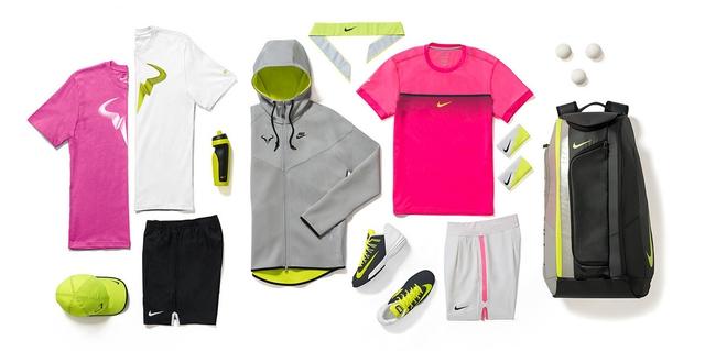 Trang phục của Nadal tại Australian Open 2015