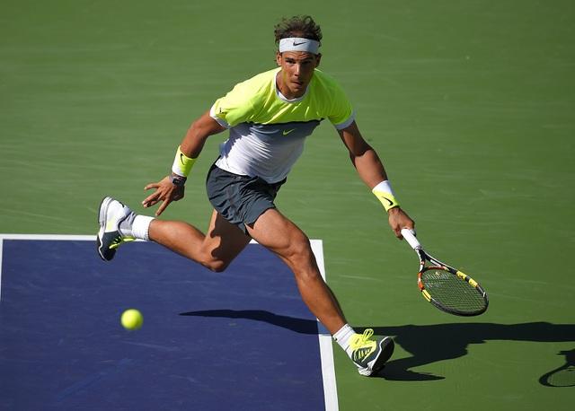Rafael Nadal đã trở lại sau thất bại tại Indian Wells