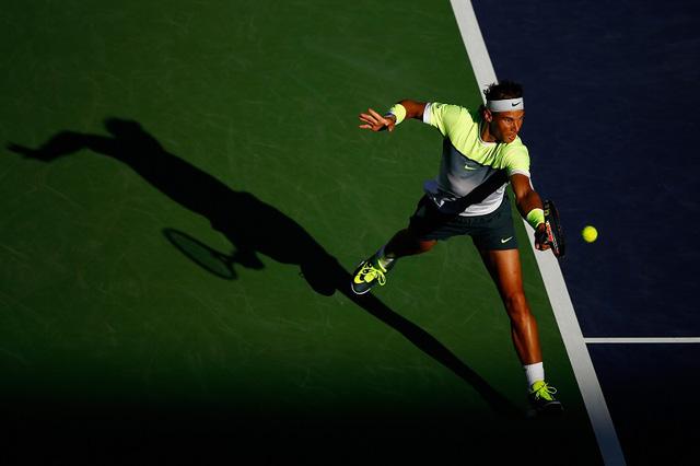 Nadal đang kém hai vị trí số 1 và số 2 một khoảng cách điểm rất lớn.
