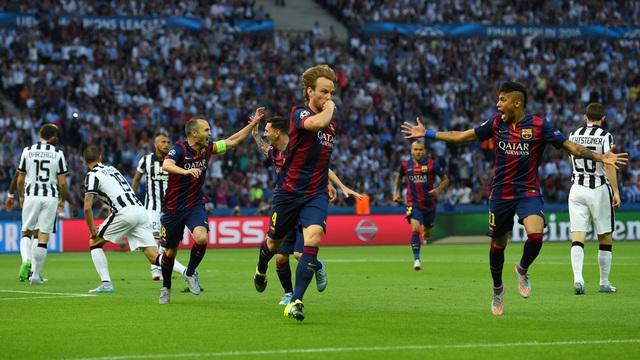 Raktic ghi bàn mở tỉ số ngay ở phút thứ 4 sau đường chuyền dọn cỗ của Iniesta. Messi là người phát động đợt tấn công này.