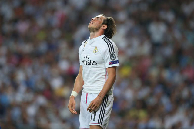 Gareth Bale đang gây thất vọng lớn trong thời gian qua