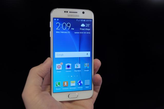 Samsung Galaxy S6 sở hữu thiết kế kim loại nguyên khối siêu mỏng