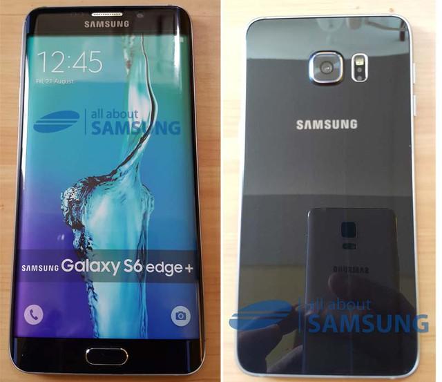 Hình ảnh rõ nét của Galaxy S6 Edge Plus