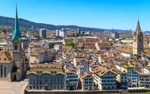 Thành phố Zurich của Thụy Sỹ có hệ thống cơ sở hạ tầng và dịch vụ sức khỏe hàng đầu thế giới.