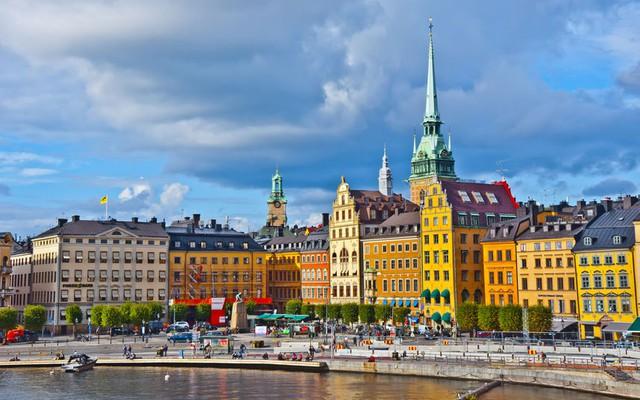 Thành phố Stockholm của Thụy Điển cũng có mặt trong danh sách 10 thành phố an toàn nhất thế giới.