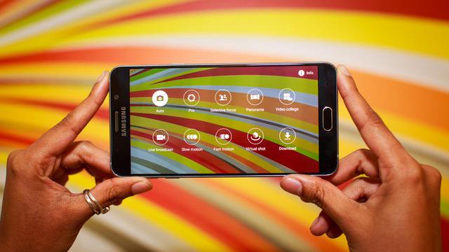 Galaxy Note 5 sở hữu các chỉ số camera tương tự như Galaxy S6 Edge+