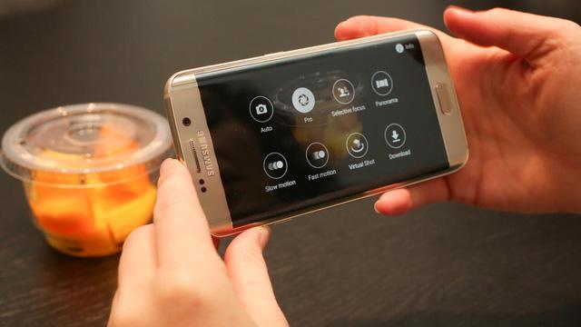 Galaxy S6 Edge sở hữu camera sau có độ phân giải lên tới 16MP