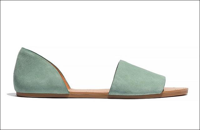 Sandals với gam màu pastel nhã nhặn của Madewell
