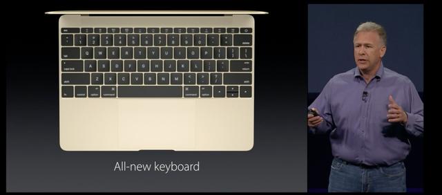 MacBook sở hữu bàn phím hoàn toàn mới