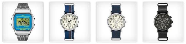 Hiển thị thời gian trên của các hãng đồng hồ nổi tiếng