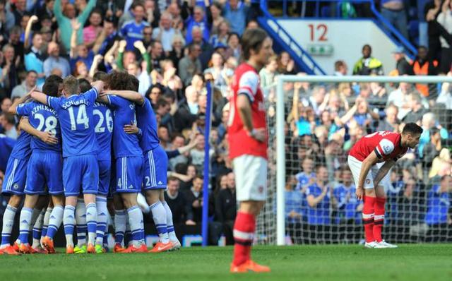 Chelsea của Mourinho thực sự là một ông kẹ đối với Arsenal. Khi Ngài Đặc biệt tại vị ở The Blues, Pháo thủ chưa từng một lần thắng trong 12 lần đối đầu.