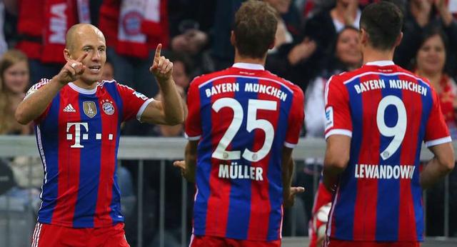 Ra sân với đội hình mạnh nhất, Bayern không khó để hạ gục đội bóng áo xanh lá với tỷ số chung cuộc 2-1.