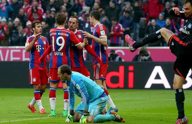 Khi đã tìm lại mạch chiến thắng, Bayern Munich đơn giản là không thể cản lại được. Họ hủy diệt Hamburg tới 8 bàn không gỡ.