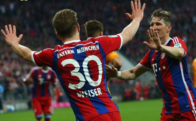 Với việc hạ Hertha Berlin, Bayern Munich chỉ cần chờ Wolfsburg sảy chân là có thể ăn mừng. Và cuối cùng, Monchengladbach đã mang tin vui tới cho Hùm xám. Đây là chức vô địch lần thứ 25 của Bayern Munich.