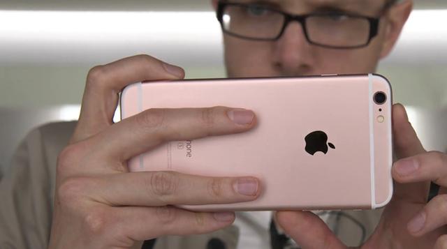 Camera sau của iPhone 6S Plus đã được nâng cấp lên độ phân giải 12MP