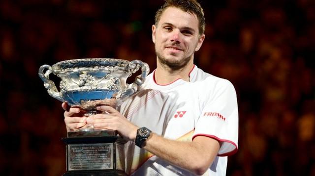 Đương kim vô địch Wawrinka ở cùng nhánh đấu với Novak Djokovic.