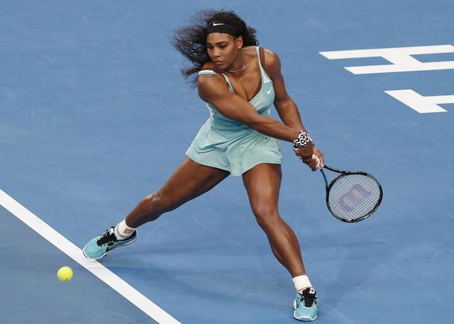 Serena là hạt giống số 1 tại Australian Open 2015 nội dung đơn nữ.