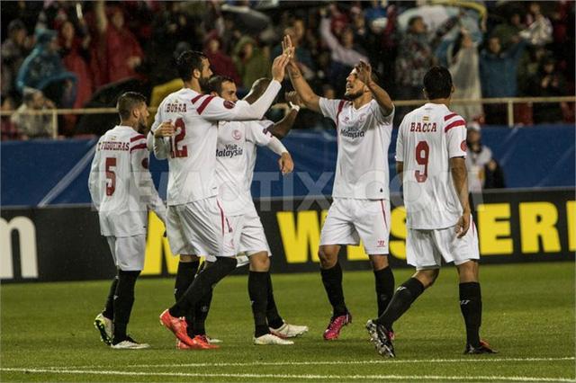 ĐKVĐ Sevilla đang có rất nhiều lợi thế