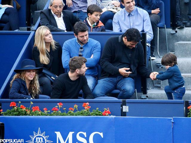 Con trai Milan tuy nghịch ngợm nhưng cũng rất đáng yêu, thu hút sự chú ý của một số khán giả.