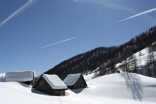 Khung cảnh bình yên của vùng rừng núi Alps, nước Pháp