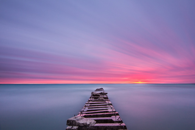 Atwater Beach. Milwaukee, United States. Photo by Trevor Todd/Snapwire.