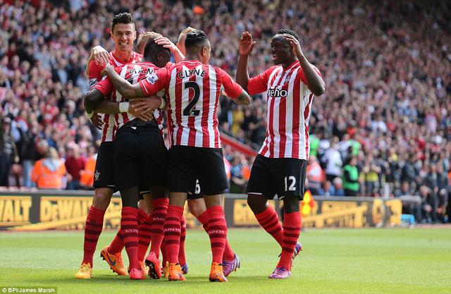 Southampton tràn đầy cơ hội dự cúp châu Âu mùa sau.