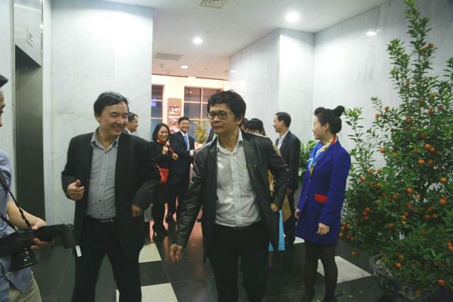 Tổng Giám đốc Trần Bình Minh và Phó Tổng Giám đốc Phạm Việt Tiến thăm hỏi và chúc Tết các đơn vị