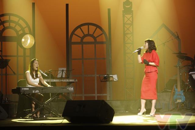 Phút thăng hoa của nhạc sĩ Giáng Son và ca sĩ Khánh Linh trong bài hát Giấc mơ trưa