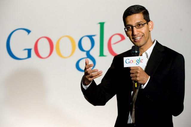 Sundar Pichai trở thành CEO mới của Google