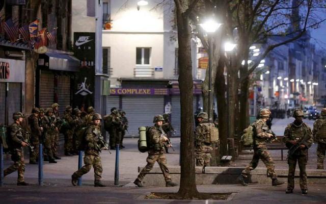 Được biết, chiến dịch truy quét của cánh sát nhằm tìm kiếm tên Abdelhamid Abaaoud, nghi phạm liên quan đến vụ khủng bố ở Paris 13/11. (Ảnh: Getty).