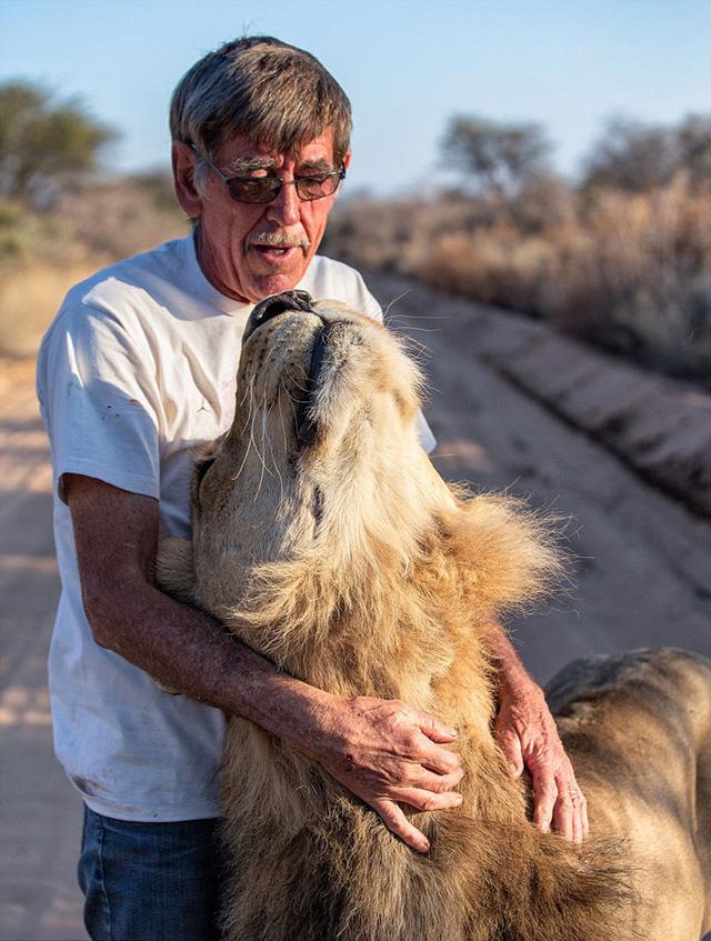 Đối với ông, Zion không đơn thuần là vật nuôi mà còn là một người bạn.