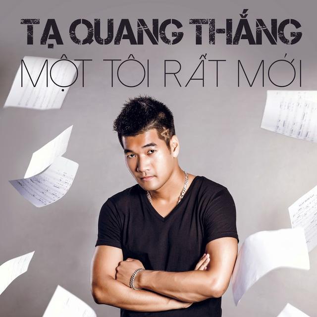 Tạ Quang Thắng trên bìa album mới Một tôi rất khác