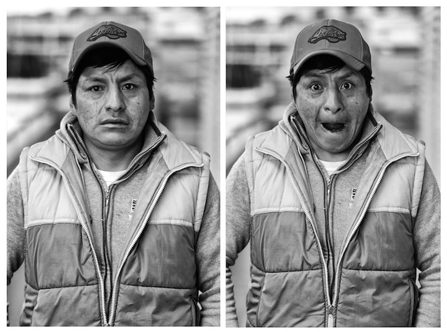Oscar, một thợ mỏ sinh sống tại Potosi (Bolivia): Bước vào tuổi 30 cũng không làm thay đổi cuộc sống của tôi nhiều. Tôi có con đầu lòng khá sớm, khi ấy tôi mới 21 tuổi. Mọi trách nhiệm đều đổ dồn vào tôi từ lúc đó...