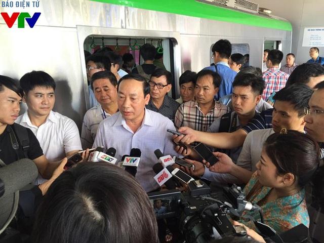 Thứ trưởng Bộ Giao thông vận tải Nguyễn Hồng Trường.