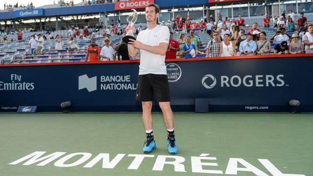 Murray đã đánh bại Novak Djokovic tại chung kết Roger Cup năm nay.
