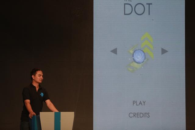 Thử thách trong trò chơi Cầu chuyển động - The Dot