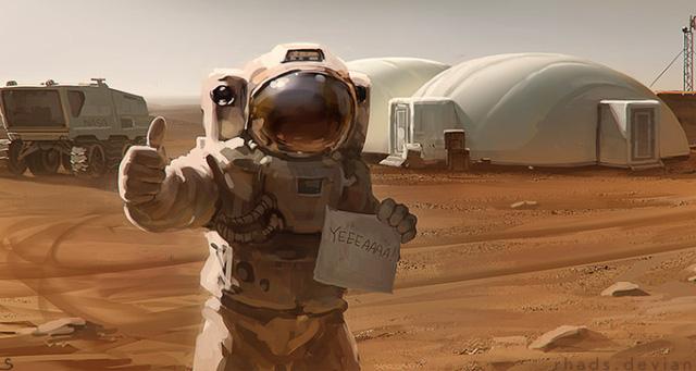 The Martian tiếp tục hút khách